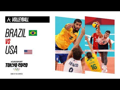 Brazil Volleyball vs USA Volleyball</a> 2021-07-30
