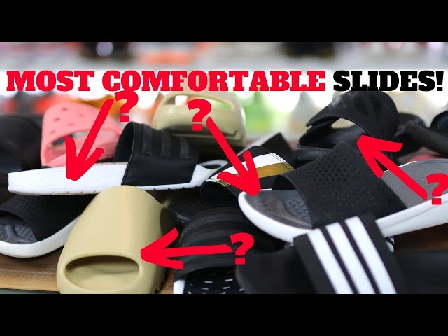 MOST COMFORTABLE SLIDES! RANKED AND COMPARED!