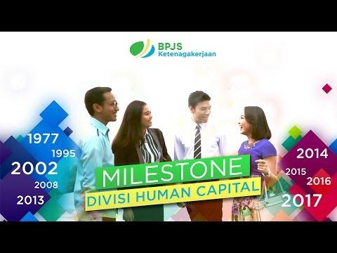Milestone Divisi Human Capital BPJS Ketenagakerjaan