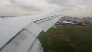 preview picture of video 'Qatar Airways Boeing 777 lands at Heathrow on 27L'