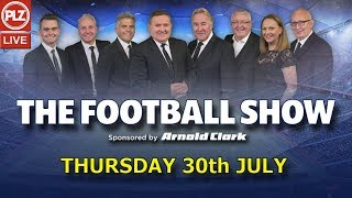 Tam McManus Gerrard Must Stop Ten In A Row - The Football Show Thu 30th July 2020