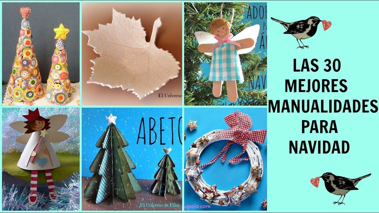 Manualidades para Navidad, Las Mejores Manualidades para Navidad