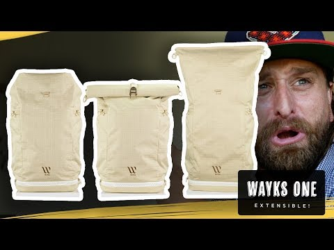 Wayks One Transformable Backpack