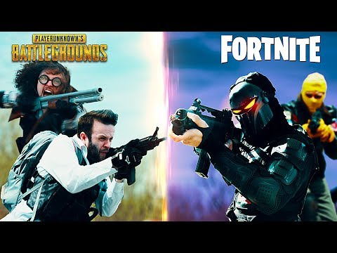 PUBG vs Fortnite - The Battle is Real in Hysterical Live Action Film