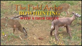Bowhunting With A Deer Decoy