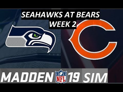 Madden 19 - Week 2 - Seattle Seahawks At Chicago Bears 2018