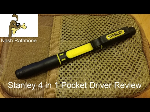 Stanley 4 In 1 Pocket Driver Review