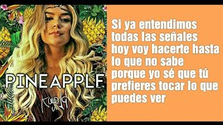 Karol G  PINEAPPLE (lyrics)