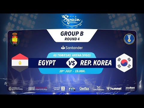#Handtastic | PR - Group B | Egypt : Rep. Korea