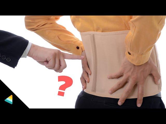 Back Pain Belt/ Kamar Belt   How to choose better one for you?