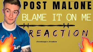 POST MALONE-BLAME IT ON ME(REACTION!!)