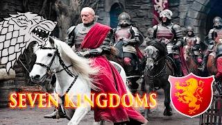 Seven Kingdoms Total War Attila - Старки Против Ланнистеров