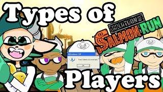 7 Types of Salmon Run Players