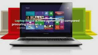 How Laptop Rental Made Easy For Businesses in Dubai?