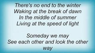 Joseph Arthur - Speed Of Light Lyrics