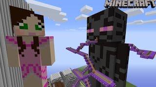 Minecraft: Notch Land - GIANT ENDERMAN RIDE [2]
