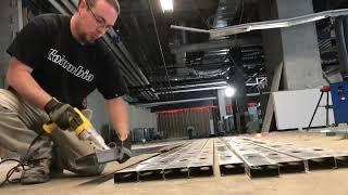 Dewalt Shears In Action - Cutting Heavy Gauge Steel Studs