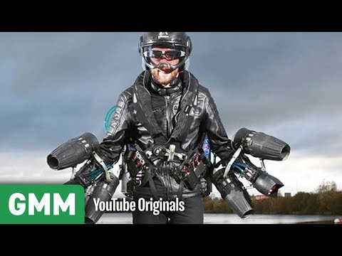 Real Life Iron Man? | High Road Low Road