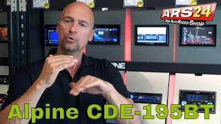 Alpine CDE-195BT | Autoradio mit Bluetooth | Review | ARS24