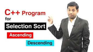 Download Youtube: Selection Sort in C++ (HINDI)