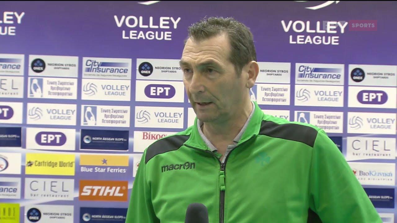 Volley League | Δ. Ανδρεόπουλος: Θα είμαστε έτοιμοι για το Πανευρωπαϊκό | 08/04/21 | ΕΡΤ