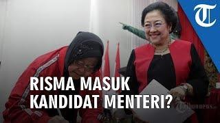 Resmi Menjadi Ketua DPP PDIP, Hasto Sebut Risma Belum Tentu Masuk Kandidat Menteri