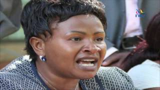 Keep calm, Wavinya Ndeti tells supporters - VIDEO