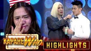 Jackque Gonzaga gets emotional | It's Showtime KapareWho