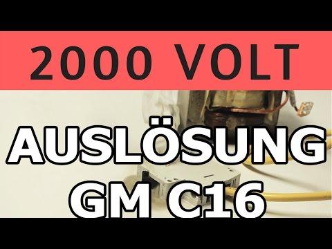 MÖLLER C 16 AUTOMAT & EXTRAS | 2000 VOLT TEST | Die Bastel Butze