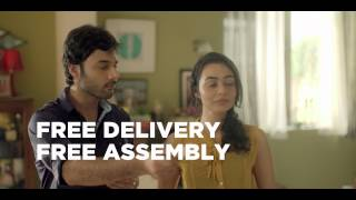 Free Assembly. Free Delivery. Happy Furniture to you. (Pepperfry.com)
