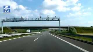 preview picture of video 'R55: Říkovice - (Zlín) Otrokovice - Hulín (3.5x)'