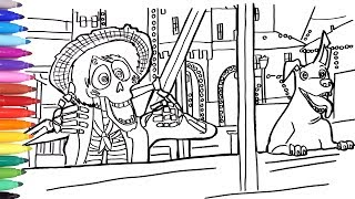 Coco Coloring Pages Free Video Search Site Findclip Net