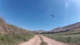preview picture of video 'Kite Buggy en Pancrudo - Teruel (hacia el Prao)'