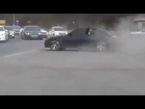 BMW M5 E60 Mafia Drift wedding