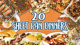 20 Sheet Pan Dinners | Recipe Super Compilation | Well Done