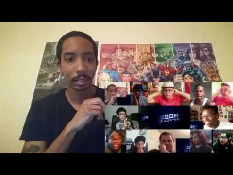 Reactions Mashup- THE FLASH Comic Con 2015 Reel Reaction