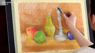 """Пастель мягкая художественная KOH-I-NOOR """"Toison D'or"""", 24 цвета, круглое сечение, 8514024005KS"""