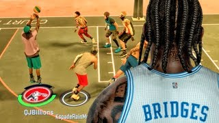 TAKING OVER THE PARK w/KSPADE! NBA 2K17 MyPark Gameplay Ep. 7