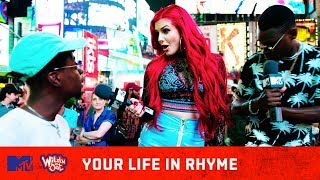 Justina Valentine Freestyles for the People of NYC (Pt. 2) | Your Life In Rhyme | Wild