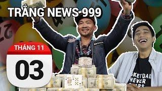 Tay chơi poker gốc Việt thắng giải thế giới 176 tỷ | TRẮNG NEWS 999 | 3-11-2016