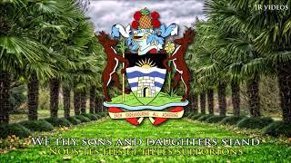 Hymne national d'Antigua et Barbuda (EN/FR paroles) - Anthem of ATG (French)