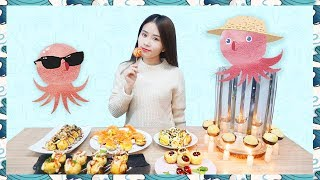 E39 Takoyaki!Cooking octopus balls at office!| Ms Yeah