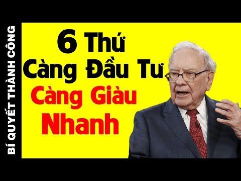 Tỷ Phú Warren Buffett: Nghèo Khổ Đến Mấy Cũng Nhất Định Phải Đầu Tư 6 Thứ Này Để Giàu Có, Thành Công