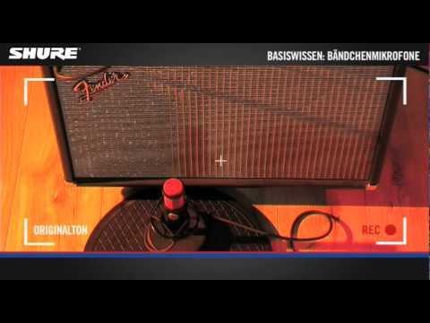 Basiswissen: Bändchenmikrofone