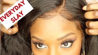 How I Really Wear My Wigs | Perfect Everyday Curly/Wavy Hair | 360 Full Lace Wig | Lu Hair