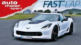Chevrolet Corvette Z06: Die macht 911 und R8 platt! - Fast Lap | auto motor und sport
