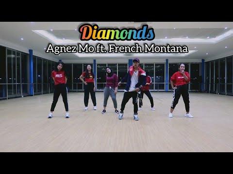 Agnez Mo - Diamonds ft. French Montana | ZUMBA | FITNESS | At Global Sport Center Balikpapan