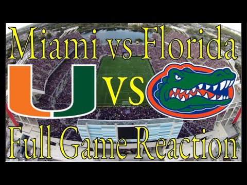 Miami vs #8 Florida | Week 0 | Full Game Reaction