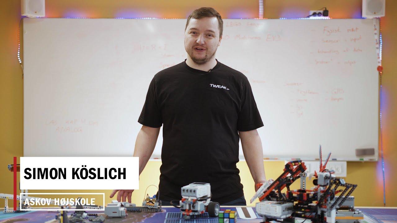 HØJSKOLE HACK: Byg en robot der løser en rubics cube