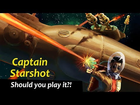 Captain Starshot - First Impressions - Should you play it?! - Updated